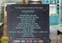 Alfajores marplatenses - Programa: Morfi - Parte 1 - Paso a paso en video en el link: https://www.youtube.com/watch?v=hVvopJmxkOE