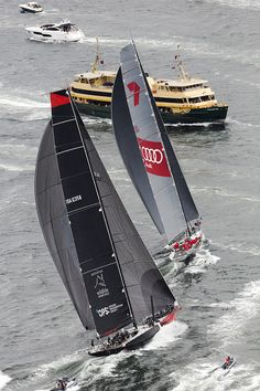"""Wild Oats still the daddy"" The SOLAS Big Boat Challenge takes place in build-up to Rolex Sydney Hobart 2014"