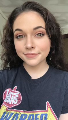 First post! Played around with Too Faceds Just Peachy Mattes Palette CCW