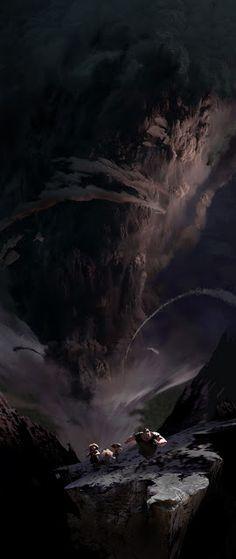 Croods: Dun dun dunnnn!!! | Leighton Hickman Art