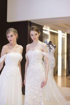 pronovias 2018 la collezione sposa in anteprima atelier pronoviasbridal gownswedding bellswonderlandwedding inspirationnycweddingbrides