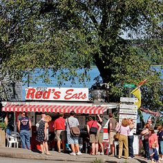 I've been to The Lobster Shack, Red's Eats and Bet's Famous Fish Fry - all are just super spots!