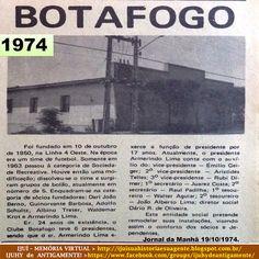 IJUÍ - RS - Memória Virtual: Sociedade Recreativa Botafogo de Ijuí, no ano de 1...