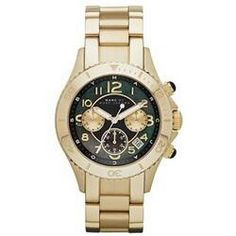 Marc by Marc Jacobs green face watch