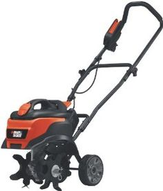 Black & Decker TL10 8.3 Amp Corded Electric Front Tine Tiller by Black & Decker. $234.57. 96 feet/pound of torque tackles tough tilling jobs; 3-position tine depth. Removable ballast tank to customize weight for tilling task. Instant start lever eliminates the hassle of pull cords and mixing fuel. Electric corded garden tiller with quiet 8.3 amp motor. Measures 26.2 x 19 x 14.8 inches; 2-year warranty. Amazon.com 8.3 amp corded garden tiller comes loaded with ...