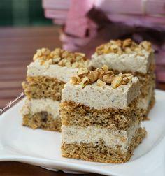 Nagymamám volt a diótorta-királynő (ha ismeritek Buddy-t a tortakirályt, na diótortában bizony eltángálta volna :)) Sajnos már nem sütöget,... Cookie Recipes, Dessert Recipes, Desserts, Paleo Sweets, Hungarian Recipes, Dessert Drinks, Sweet And Salty, Cake Cookies, Breakfast Recipes