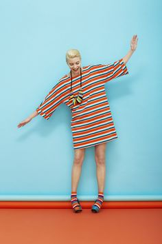 Marimekko´s Spring 2013--I like the simplicity of this shape for quick sewing, but I bet it would be a pain to nurse in.