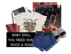 """""""I Love Rock n' Roll"""" by xo-kallio ❤ liked on Polyvore featuring American Eagle Outfitters, Simone Perele, Yves Saint Laurent, NARS Cosmetics, MadeWorn, Kori, Chanel and vintage"""