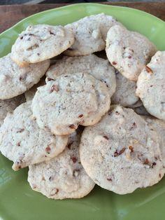 Gluten Free Bourbon Pecan Cookies