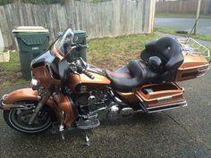 2008 Harley-Davidson FLHTCU ULTRA CLASSIC ELECTRA GLIDE Touring , Copper/Black, 43,000 miles for sale in Lacey, WA