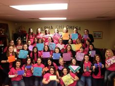 MU Alpha Chi Omega for the amazing video! You girls rock!