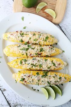 Chipotle-Lime Corn on the Cob with Asiago Cheese | 15 Mouthwatering Ways To Eat Corn On The Cob This Summer