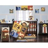 Found it at Wayfair - Jungle 123 Crib Bedding Collection