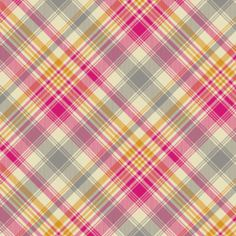 Joel Dewberry fabric: Tartan in Pink  (also comes in an aqua-teal green-citron color scheme for boys)