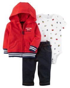 Baby Boy 3-Piece Little Jacket Set   Carters.com