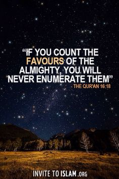 """If you count the favours of the Almighty, you will never enumerate them."" - The Qur'an 16:18 http://www.dawntravels.com/"