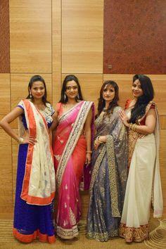 Ananya in Sari, Seattle Fashion show, Hyatt Seattle Fashion Show, Authentic Indian wear, Fashion show in Seattle, Seattle Desi Fashion Show