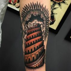 10 Monumental Tower Of Babel Tattoos!