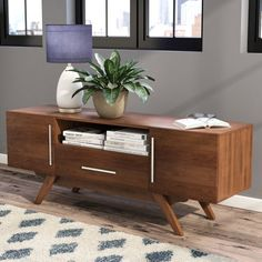 Inspired By Standby Mid Century Designs This Timeless TV Stand Is Sure To Be