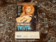 The Unbelievable Truth (VHS, 1991) OOP 1st Vidmark Adrienne Shelly/Hal Hartley!