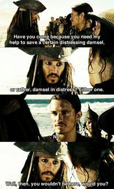 No damsel in distress?