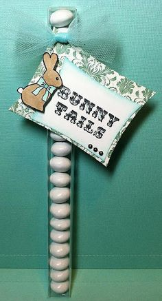 Bunny tails! Stamp from Easter Treats www.jadedblossom.com