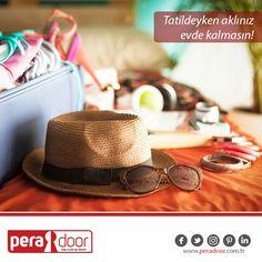 Kapınız Peradoor ise tatildeyken aklınız evde kalmaz... #Peradoor #ahşapkapı #çelikkapı #güvenlik #tatil #yaz