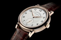 montre luxe collection: montre A. Lange Sohne 1815 Anniversary of F.A. Lan...
