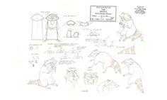 Meeko ruff model sheet. #Pocahontas