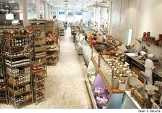 Dean & DeLuca, the first gourmet grocery market in NYC. SoHo NYC