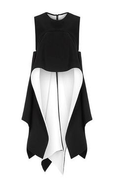 Conquered Top by MATICEVSKI for Preorder on Moda Operandi I love the liberal use of fabric White Fashion, Look Fashion, Fashion Details, Womens Fashion, Fashion Design, Fashion Trends, Patron Vintage, Mode Hijab, Mode Inspiration