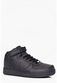buy online b8b67 e41bc High Top Trainers Latest Shoes, All Black Sneakers, High Top Sneakers, Shoe  Collection
