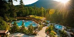 Scandinave Spa, Whistler BC.