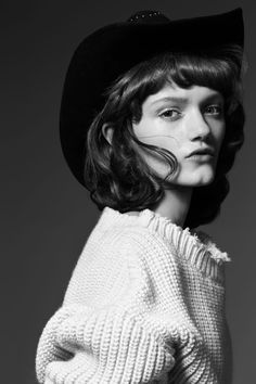 cowboy kate: peyton knight by liz collins for flair spring / summer 2016 | visual optimism; fashion editorials, shows, campaigns & more!