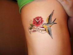 Swallow Bird Tattoo Designs   :)