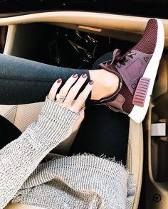 Adidas running shoes Maroon