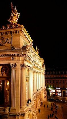 Opéra Garnier, Paris. This history behind this is even more compelling than the building itself