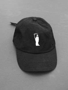 eb9430db93898 Image of Very Rare Grimm Black Strapback Cap