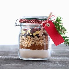 Purkkipikkuleivät - Cookies in a Jar - Finnish Homemade Sweets, Homemade Gifts, Christmas Mood, Christmas Gifts, Christmas Decorations, Jar Gifts, Christmas Inspiration, Yule, Holidays And Events