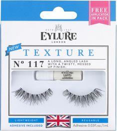 6dd07862216 Eyelure Texture False Lashes in No. 117 Makeup Brushes, Best Fake Eyelashes,  False