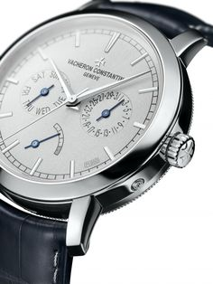 Two new Vacheron Constantin Traditionnelle in platinum - Watch - Ideas of Watch - Vacheron Constantin Traditionnelle Day-Date & Power Reserve Collection Excellence Platine. Army Watches, Fine Watches, Cool Watches, Bulova Watches, Ladies Watches, Stylish Watches, Luxury Watches For Men, Vacheron Constantin, Dream Watches