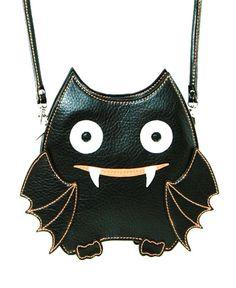 Cute Little Spooky Vampire Bat Black Bag Purse Goth Emo Punk Kawaii Alternative Kawaii, Visual Kei, Grunge, Vampire Bat, Halloween Vampire, Halloween Party, Black Bat, Creepy Cute, Emo Outfits