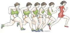 Runners come in many shapes and sizes.... This is so me!