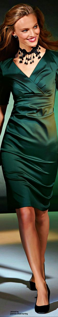 Explore the MADELEINE collection and discover high quality clothing. Green Fashion, Fashion Looks, Peplum Dress, Bodycon Dress, Madeleine Fashion, Fashion Outfits, Womens Fashion, Fashion Trends, Green Silk