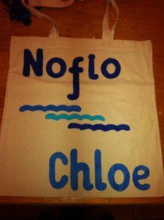 Bag with felt decoration