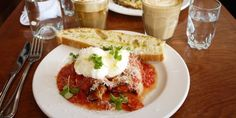 Best brunch in Vancouver I Want To Eat, Luigi, Vancouver, Brunch, Beef, Ethnic Recipes, Table, Food, Meal