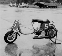 Lambretta Sprinter Northweald 1965 From Bikers Cafe