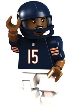 #15 Brandon Marshall Chicago Bears Wide Receiver Limited Edition OYO minifigure