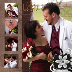 wedding scrapbooking  | Wedding Scrapbooking Page Layouts