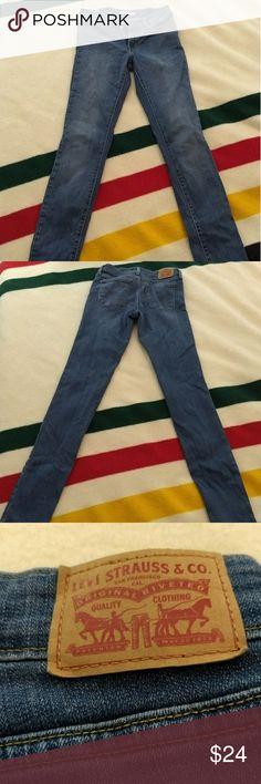 Levis 711 skinny Levi's 711 skinny jeans 28 X 34L Levi's Jeans Skinny